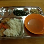 3D cafeteria dinner