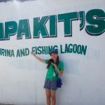 セブのアミューズメントパーク?【Papa  Kit's Marina and Fishing Lagoon】でZiplineと乗馬してきました♪
