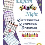 【第13回 English Activity】〜English BINGO Night〜
