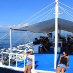 セブ留学の定番・アイランドホッピング!ナルスアン島&パンダノン島ツアーを開催♪