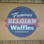 SMモールの3階にあるワッフルショップ【BELGIAN Waffles】をご紹介♪