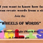 【第22回 ENGLISH ACTIVITY】〜WHEELS OF WORDS〜