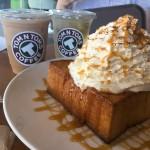 【TOM N TOMS COFFEE】甘いものが食べたくなったら…サクふわのトーストがおすすめのカフェ♪