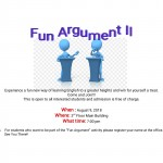 【第37回 English Activity】〜Fun Argument Ⅱ〜