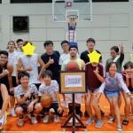 留学生集合♪毎月開催、セブ英語学校対抗バスケットボール大会!