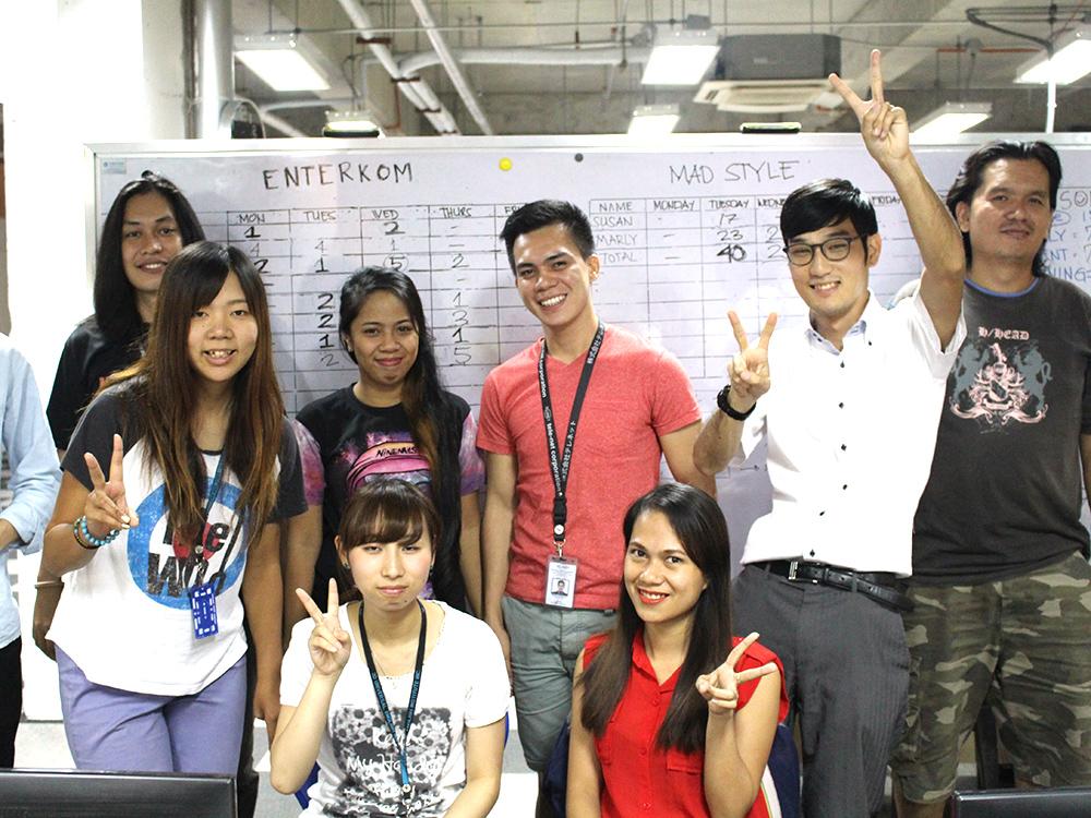 「英語+企業インターン」コース写真