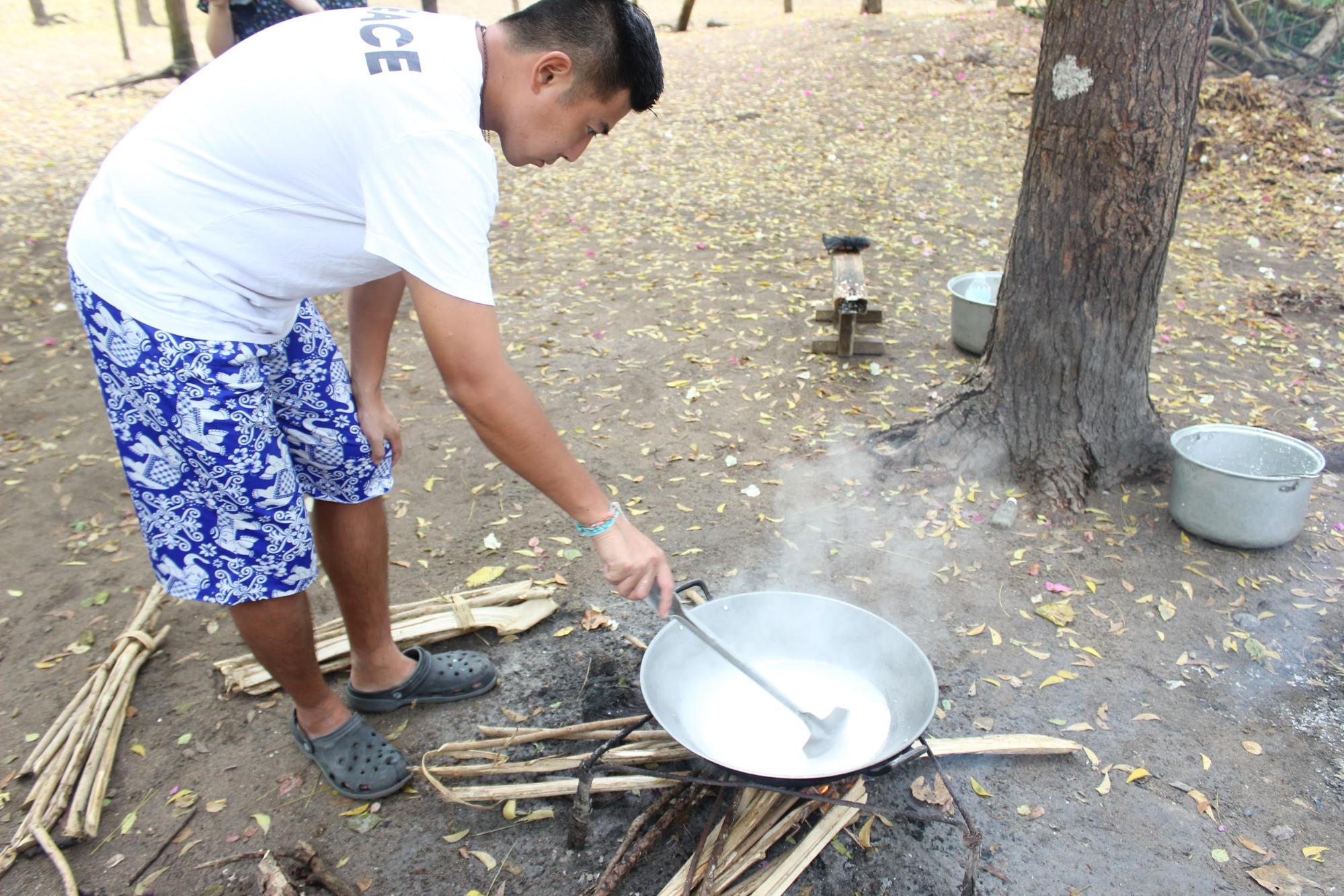 ココナッツオイル作り