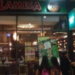 SMモールのフィリピン料理「Mesa」