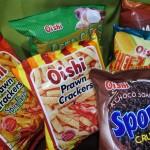 セブ島で食べる日本人好みのお菓子「Oishi」シリーズ!