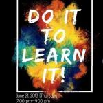 【第32回 English activity】Do it to learn it!