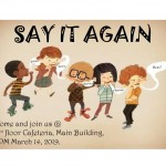 【第59回 English Activity】〜SAY IT AGAIN〜
