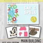 """【第63回 English Activity】〜""""If you can say it, you can spell it!""""〜"""