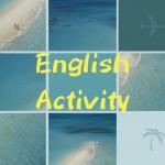 毎週木曜19時~恒例の【English Activity】前回のアクティビティレポート♪