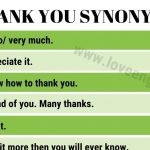 Widen your vocabulary with synonyms in the word-processing software
