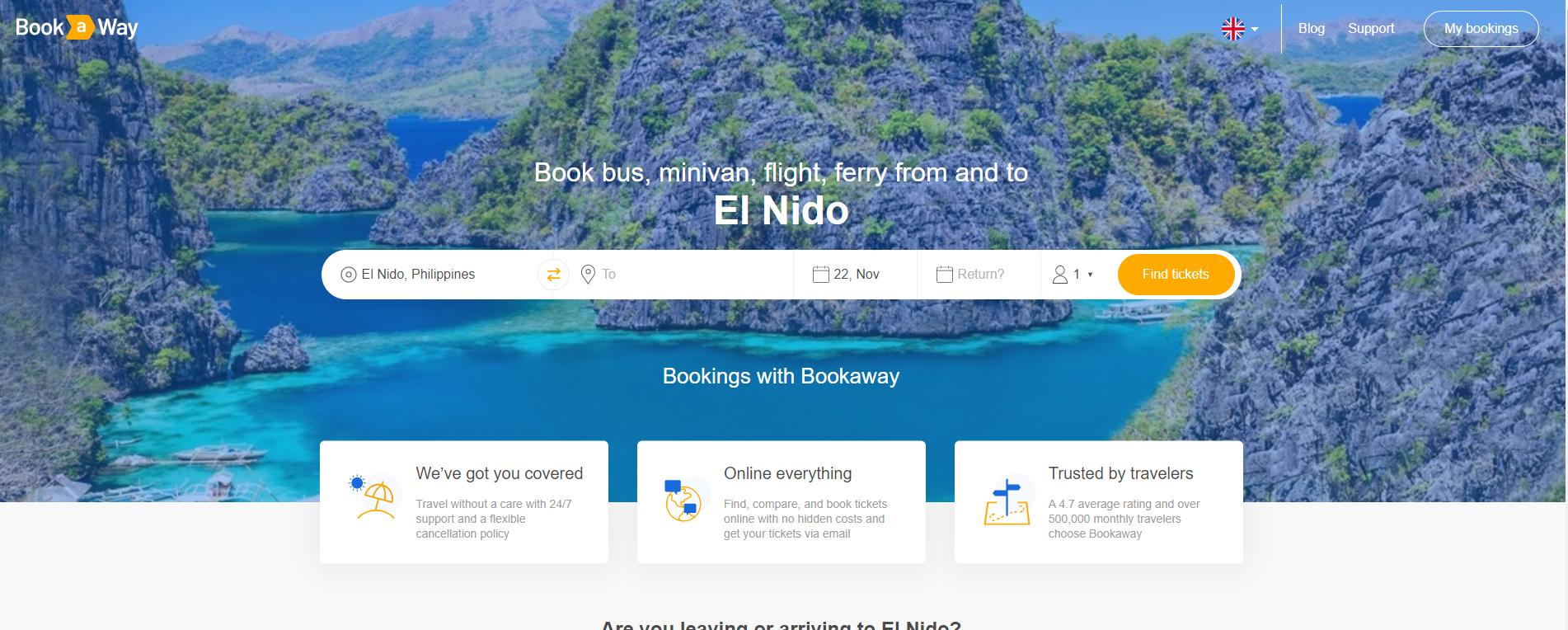 El Nido Bookaway